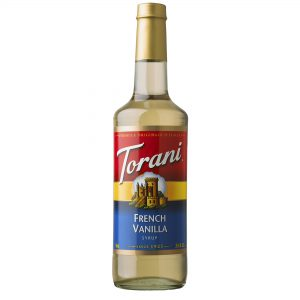 French Vanilla Syrup 750ml